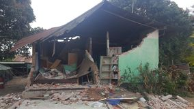earthquake obraz stock