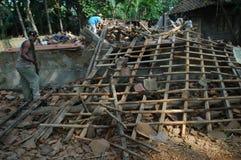earthquake fotografia stock