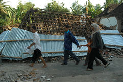 earthquake obraz royalty free
