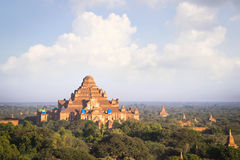 Earthquake affected to temple in Bagan Myanmar, to be renovate. Renovated temple after earthquake in Bagan Myanmar Stock Photography