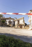 Earthquake aftermath Royalty Free Stock Photography