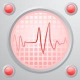 Earthquake alarm Stock Image