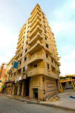 Earthquake building Stock Photo