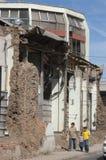 Earthquake in Chile, 2010 February 27 Stock Photos