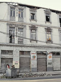 Earthquake of Chile february 2010 in Valparaiso 13 stock photography
