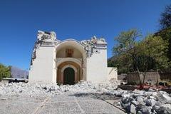 Earthquake in the Colca Canyon, Peru Stock Photos