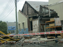 Earthquake damage Stock Images