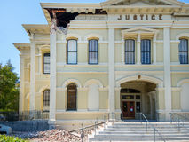 Earthquake damage, Napa, California Royalty Free Stock Image