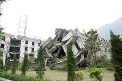 Earthquake destroy Stock Image
