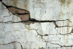 Earthquake destroy Royalty Free Stock Images