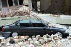 Earthquake in Ercis, Van. Stock Photography