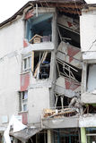 Earthquake in Ercis, Van. Stock Image