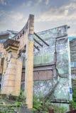 Earthquake  house Stock Image