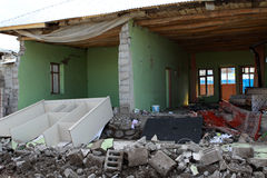 Free Earthquake In The Guvecli Village In Van, In Easte Royalty Free Stock Image - 21871486