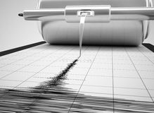 Earthquake measures Royalty Free Stock Images