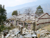 Earthquake Rubble Royalty Free Stock Photos