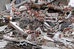 Earthquake ruins Stock Photography