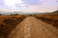Earthroad Royalty Free Stock Photography