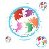 Earths art. Royalty Free Stock Photo