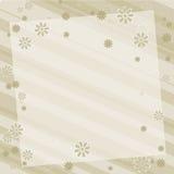 Earthtone floral de fond Image libre de droits
