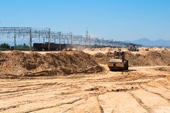 Earthwork Stock Image