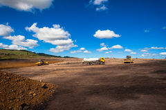 Earthworks Industrial Construction Royalty Free Stock Photos