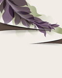 Earthy colorful foliage background. Vector earthy colorful foliage background Stock Image
