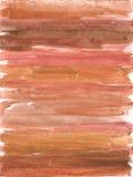 Earthy watercolor Stock Image