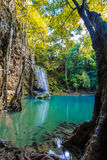 Earwan-Wasserfall Nationalpark Stockbilder