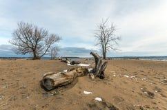 Eary Frühling See Champlain Lizenzfreie Stockfotos