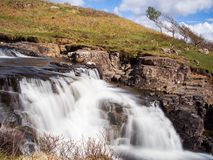Eas Fors Waterfall Stock Images