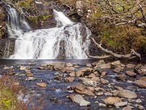 Eas Fors Waterfall Stock Photography