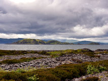 Easdale coast Royalty Free Stock Images