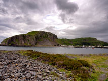 Easdale harbour Stock Photography