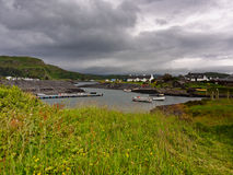 Easdale harbour Royalty Free Stock Photos