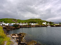 Easdale harbour Stock Image