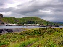 Easdale island coast Stock Photo