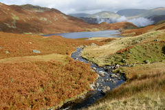 Easdale le Tarn en automne photo stock