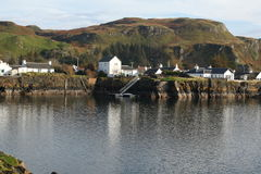 Easdale, Seil Island, Scotland Royalty Free Stock Images