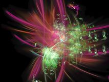 Ease digital future artistic magic background ethereal shining science. Abstract digital background future ethereal science shining dream surreal movement stock illustration