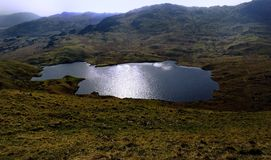 Easedale Tarn Stock Photo