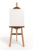 easel ψαλιδίσματος χαρτονιών τέχνης κενό μονοπάτι Στοκ Φωτογραφίες