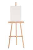 Easel. With blank white paper Royalty Free Stock Image