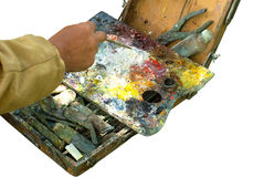 Easel Royalty Free Stock Photography
