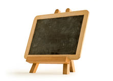 Easel for artist. Tripod with blackboard Royalty Free Stock Photos
