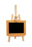 Easel and black board. Stock Image