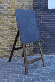 Easel blackboard Royalty Free Stock Photo