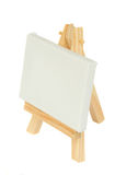 Easel with blank canvas Royalty Free Stock Image