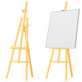 Easel board Stock Image