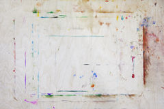 Easel board. Close up. Easel color board. Close up Royalty Free Stock Images
